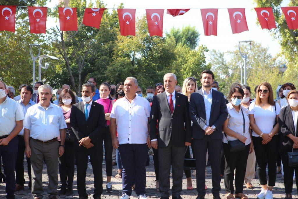 Kahramanmaraş'ta CHP'nin 98. yıl dönümü kutladı