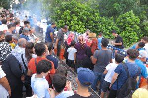 Kahramanmaraş'ta balık festivali düzenlendi