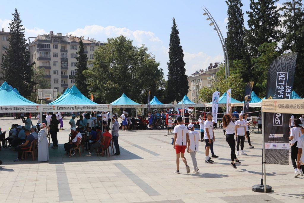 Kahramanmaraş'ta Avrupa spor haftası çeşitli etkinliklerle başladı