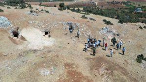Kahramanmaraş'ta 'Kırk Mağaralarında' arkeolojik kazı çalışması başladı