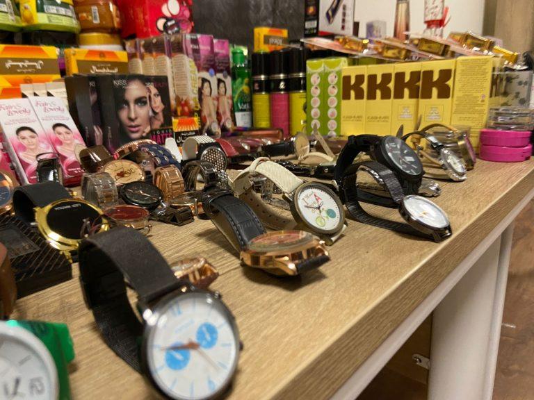 Kahramanmaraş'ta kaçak ticari ürünlere el konuldu