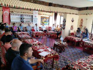 Pazarcık'ta beden eğitimi öğretmenleri bir araya geldi
