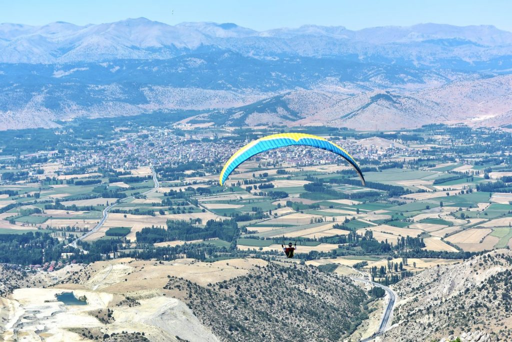 Yamaç paraşütçüleri Göksun için havalanacak