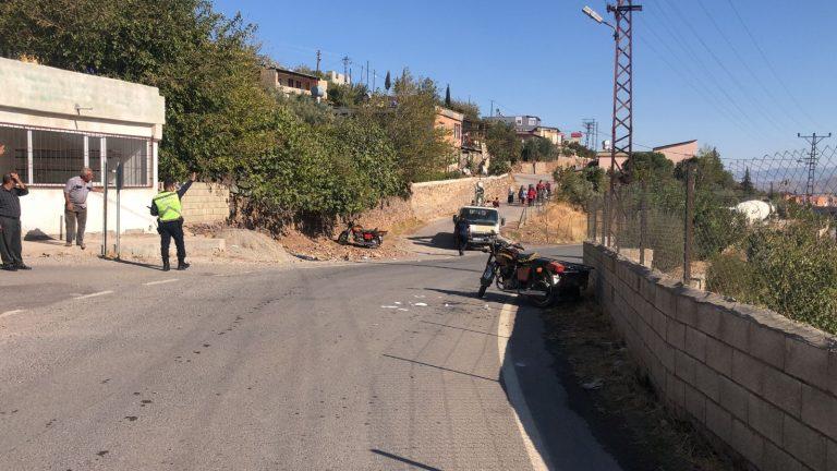 Kahramanmaraş'ta sepetli motosikletler kafa kafaya çarpıştı: 6 yaralı